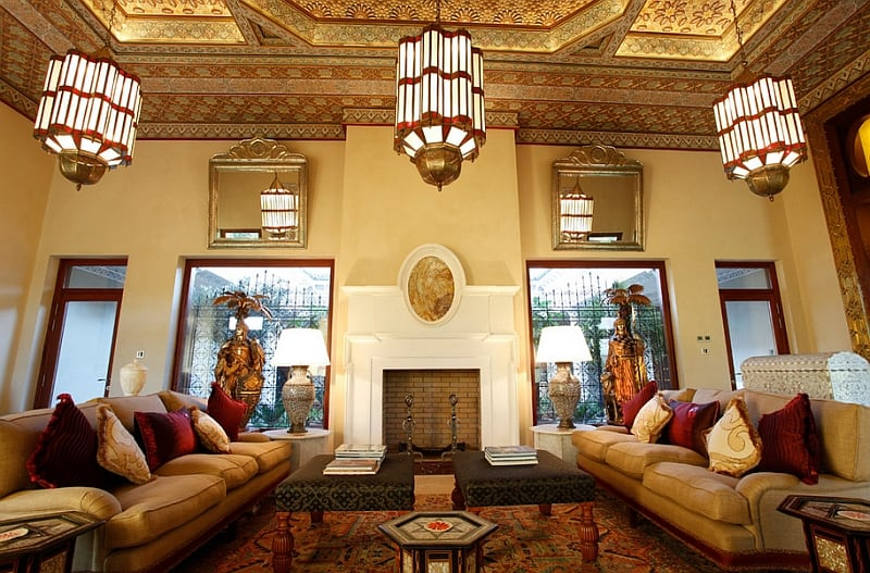 Exotic Moroccan Living Rooms4