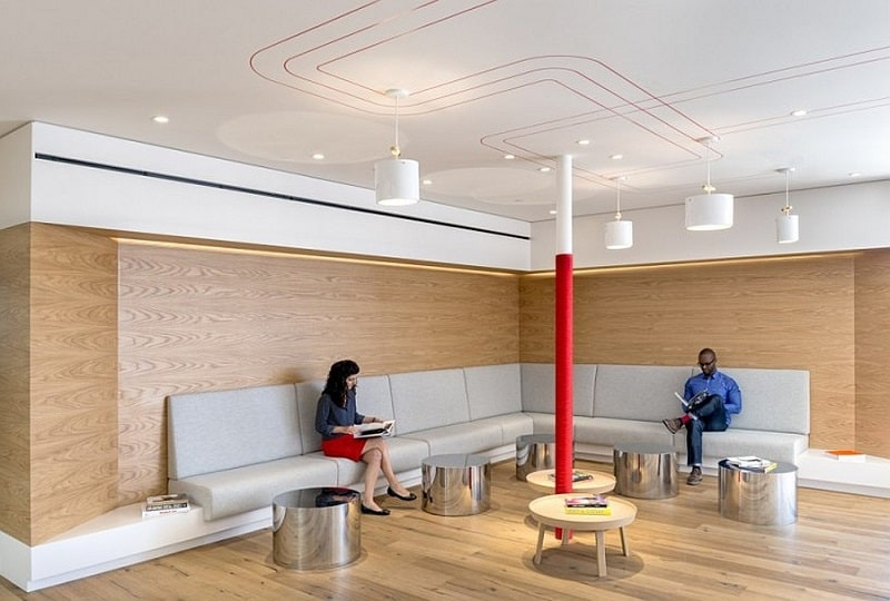 Offices that allow greater interaction between employees3
