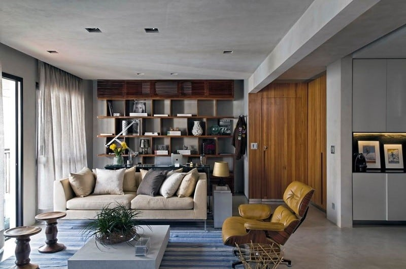 Sophisticated industrial loft in São Paolo