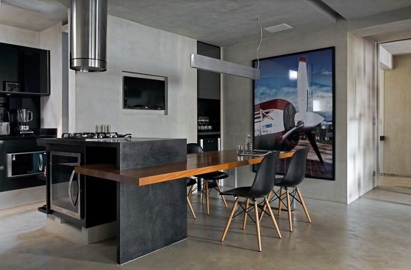 Sophisticated industrial loft in São Paolo12