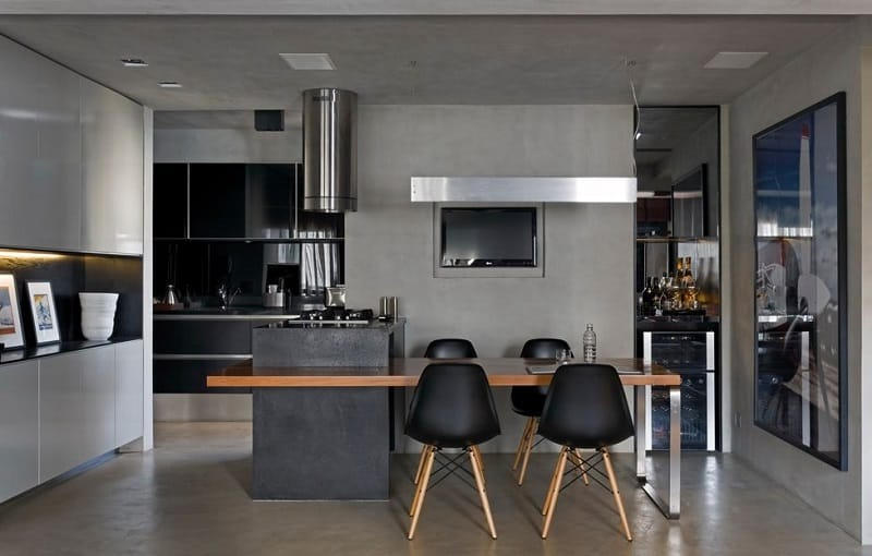Sophisticated industrial loft in São Paolo5