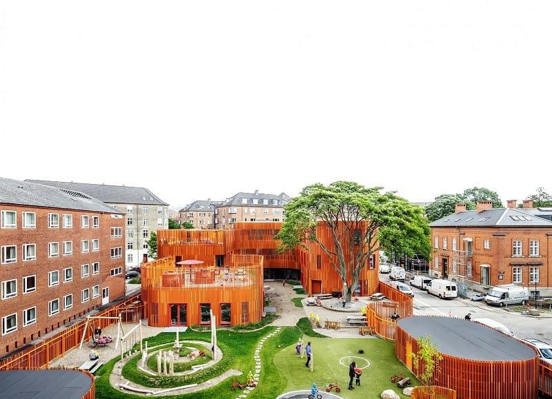 Awesome kindergarten in Copenhagen