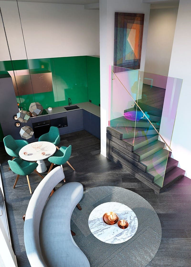 Creative designer story about the most desirable apartments in London by Tom Dixon