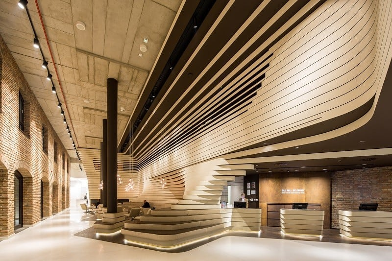 Old mill in Belgrade transformed into a modern luxurious hotel