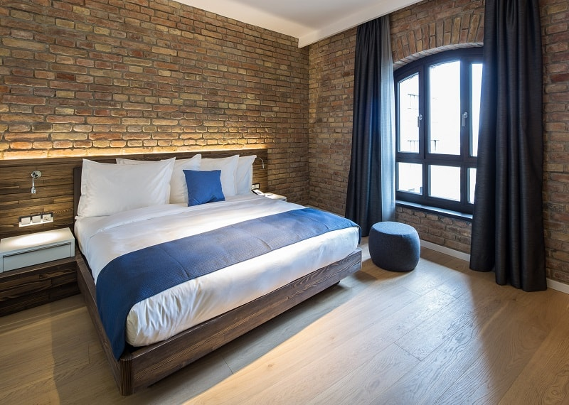 Old mill in Belgrade transformed into a modern luxurious hotel11