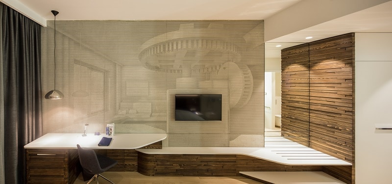 Old mill in Belgrade transformed into a modern luxurious hotel12