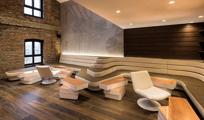 Old mill in Belgrade transformed into a modern luxurious hotel13