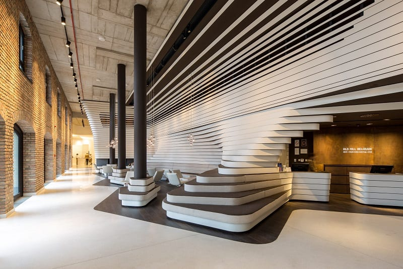 Old mill in Belgrade transformed into a modern luxurious hotel3