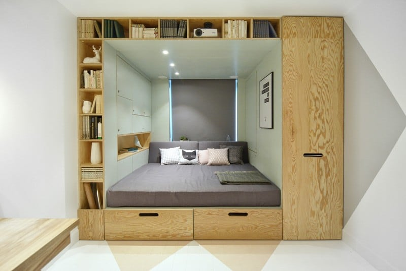 Practical and modern teen room1