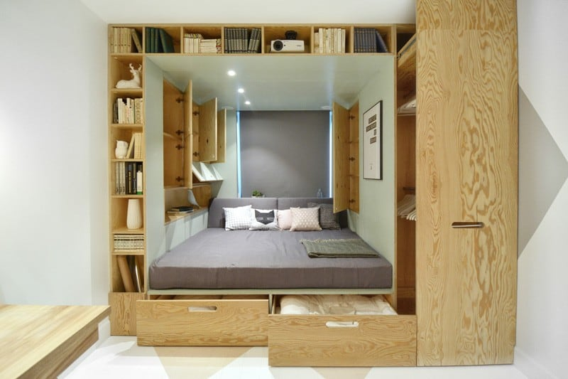 Practical and modern teen room2