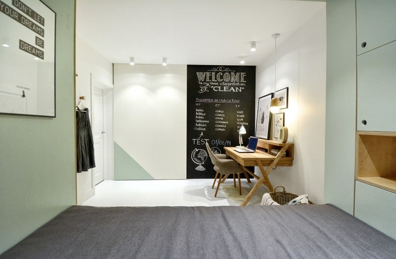Practical and modern teen room5