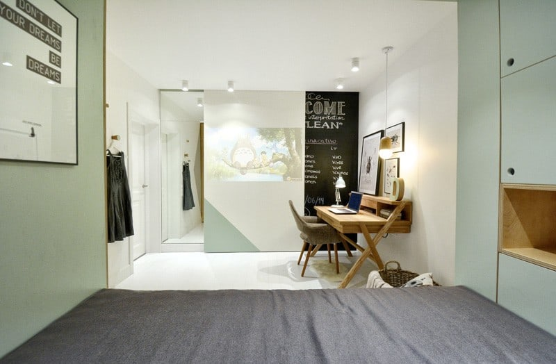 Practical and modern teen room6