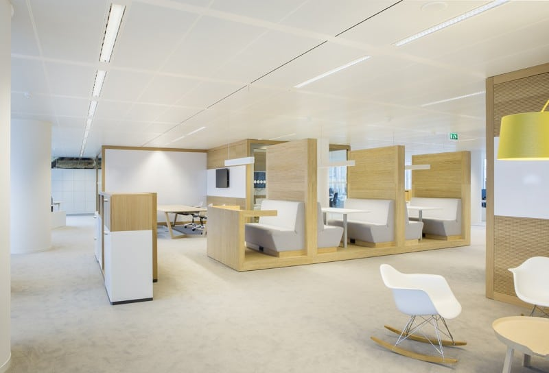 The offices of Nuon in modern retro-style5