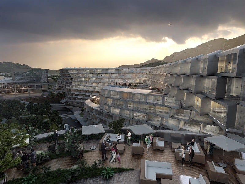 Esfera City Center - project for grandiose residential complex in Mexico