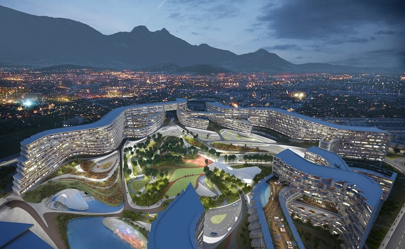 Esfera City Center - project for grandiose residential complex in Mexico5