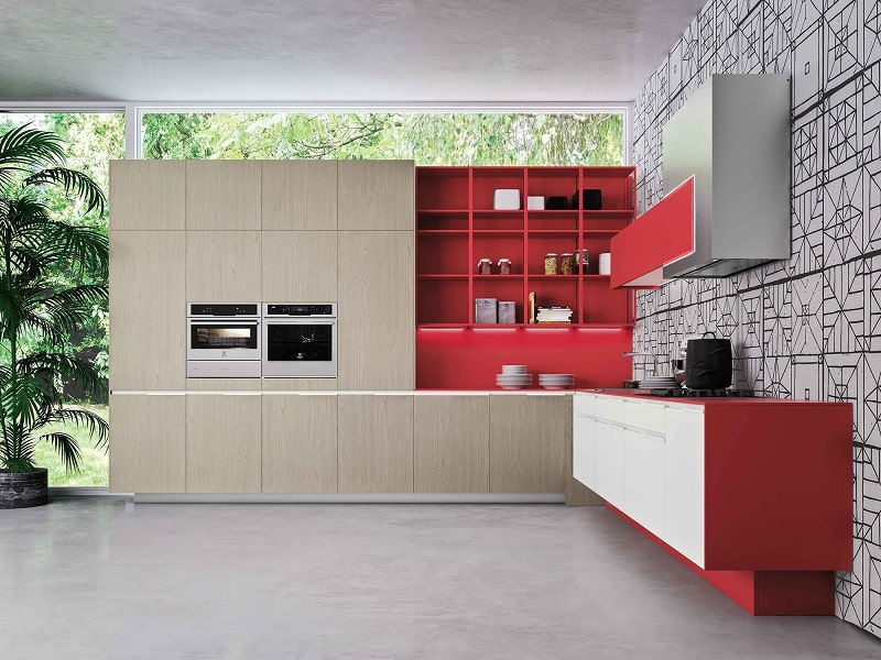 Kitchens with flexible design and modular elements1