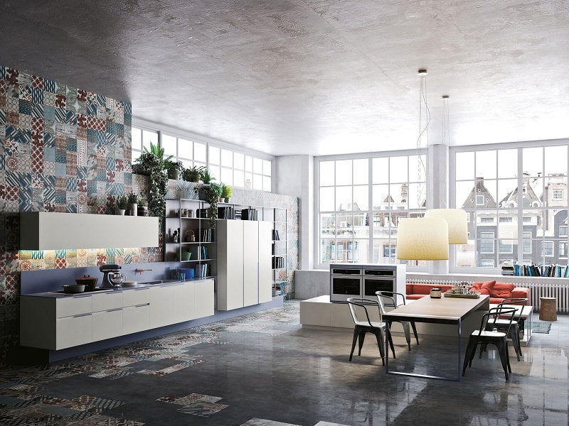 Kitchens with flexible design and modular elements7