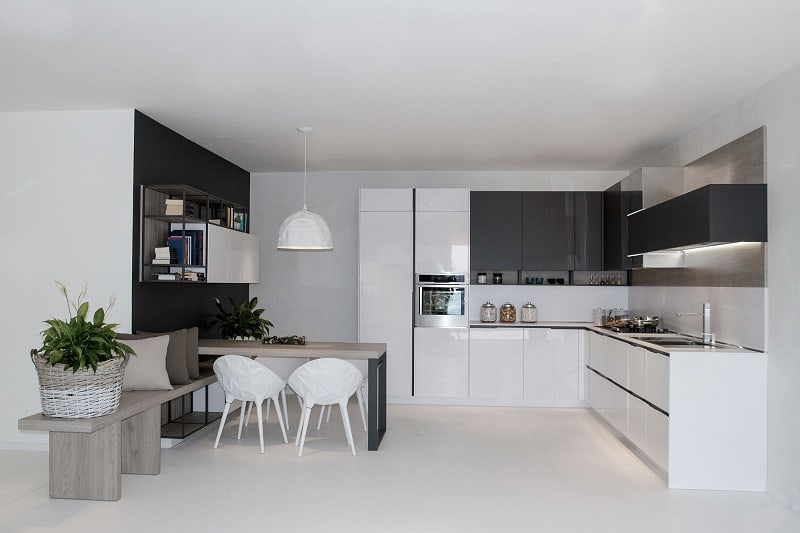 Kitchens with flexible design and modular elements9