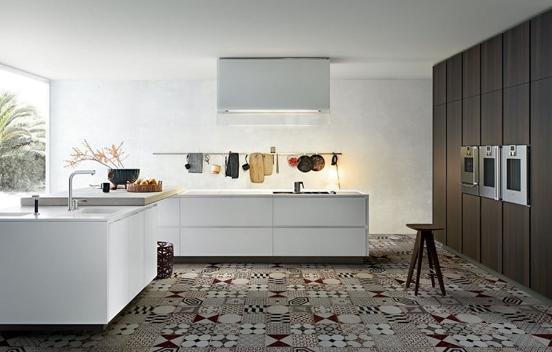 Modern spacious kitchen designs by Varenna1