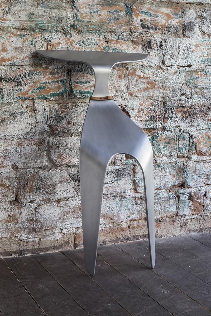 Mono - Chair Made From A Single Piece Of Bent Aluminum2