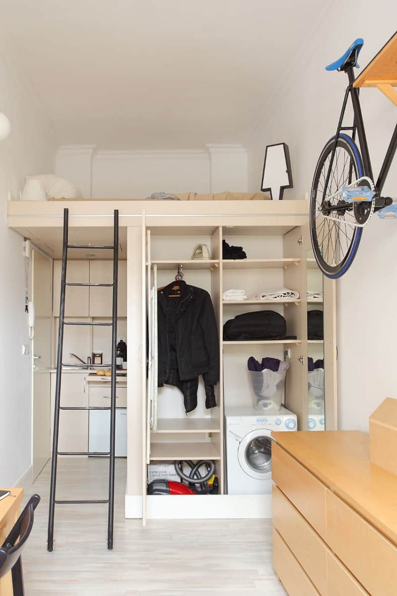 Tiny yet comfortable 140 square feet apartment2
