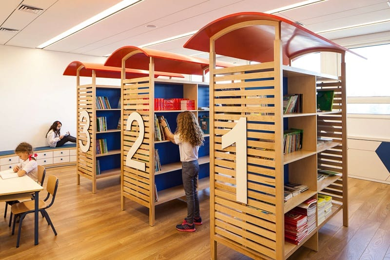 Awesome school in Israel with playful interior7