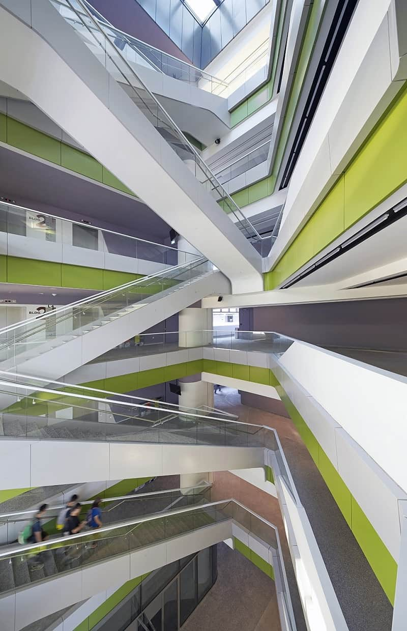 University campus in Singapore with contemporary design 1