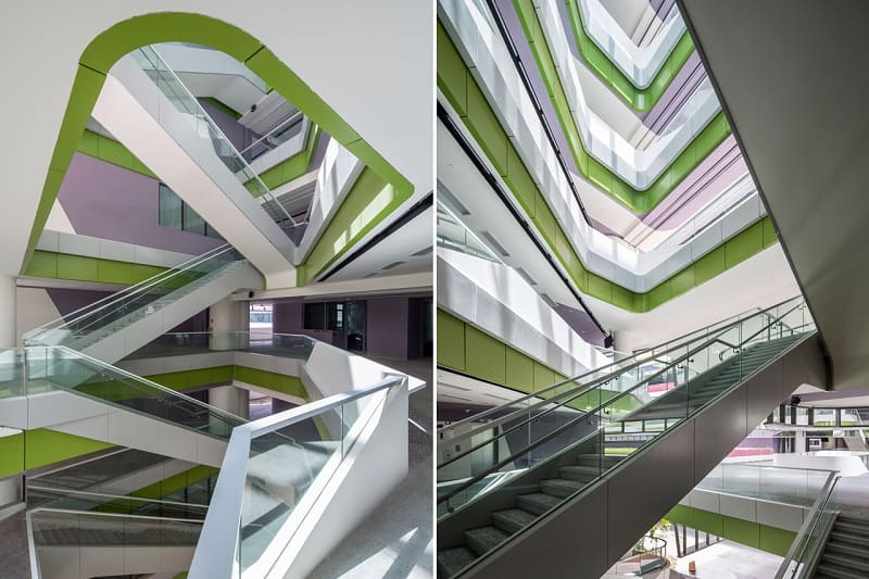 University campus in Singapore with contemporary design 2