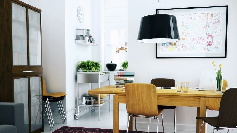 15 ideas for decorating your home workspace8