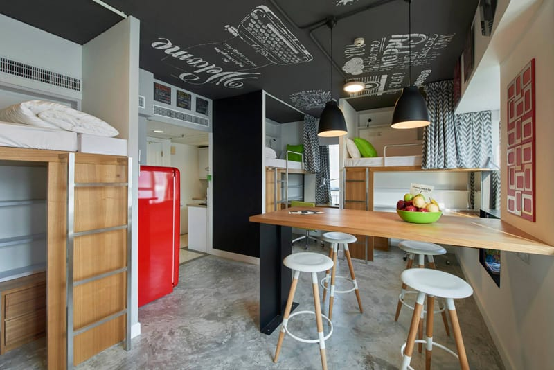 Hotel in Hong Kong transformed into an affordable student housing