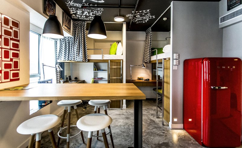 Hotel in Hong Kong transformed into an affordable student housing2