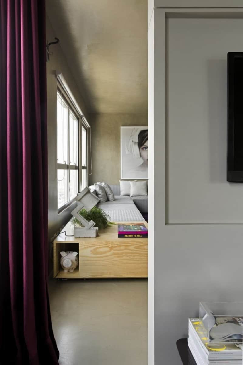 Modern grey apartment in Sao Paolo11