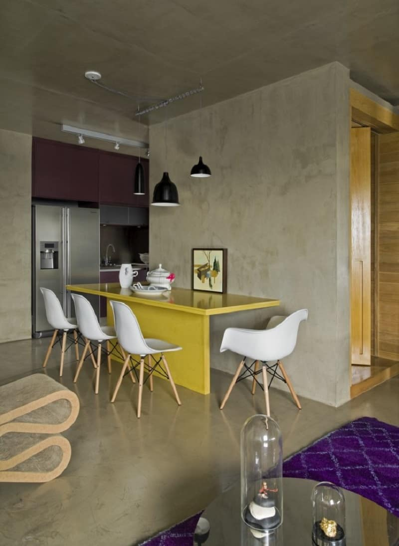 Modern grey apartment in Sao Paolo3