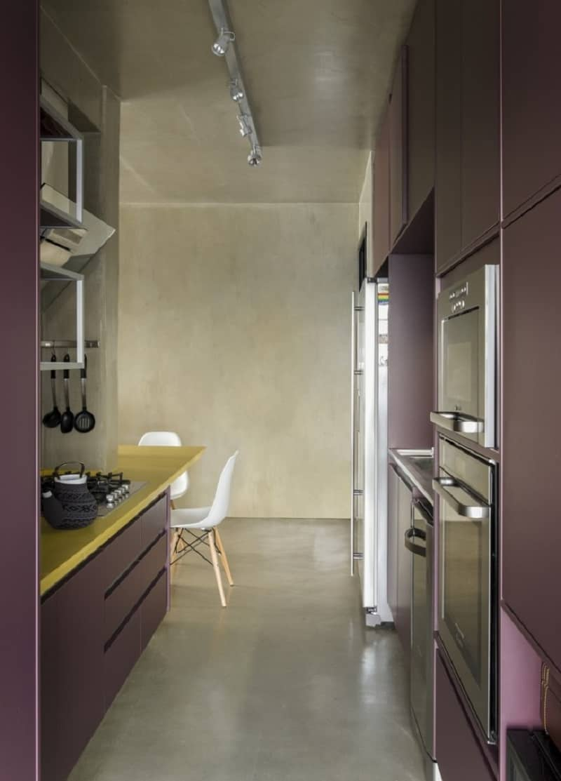 Modern grey apartment in Sao Paolo6