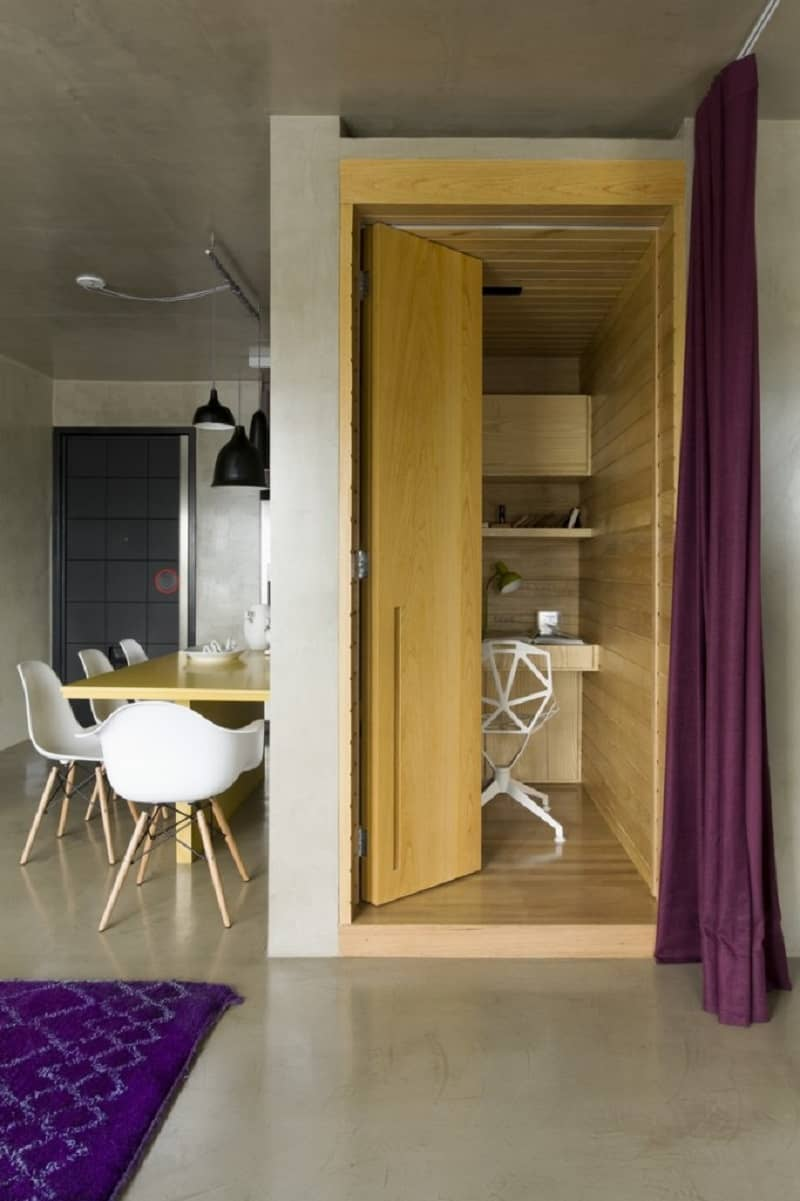 Modern grey apartment in Sao Paolo7