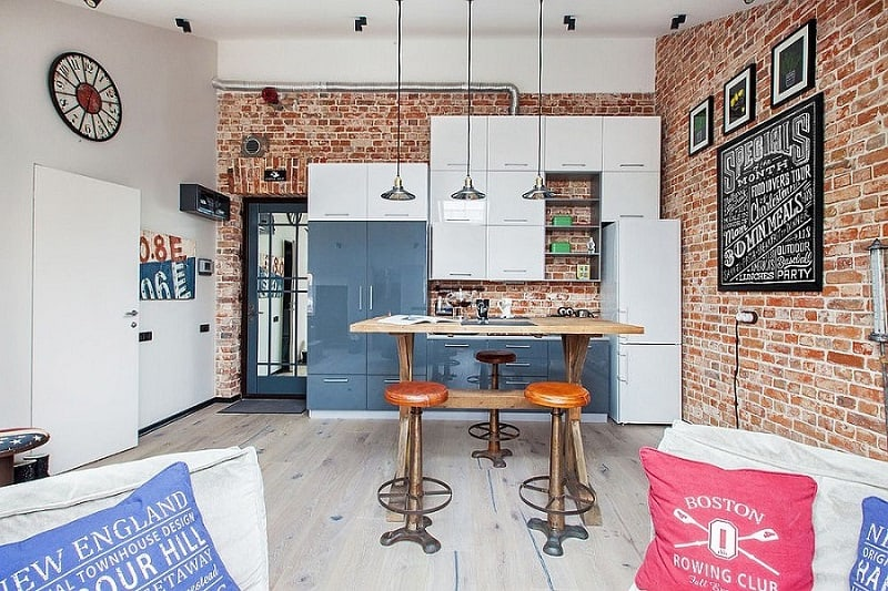 Small apartment in a former factory with an industrial charm1