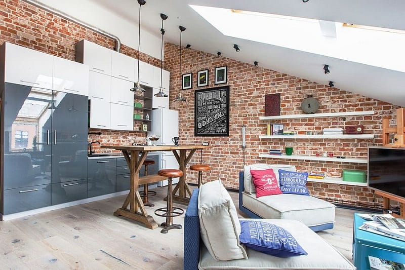 Small apartment in a former factory with an industrial charm2