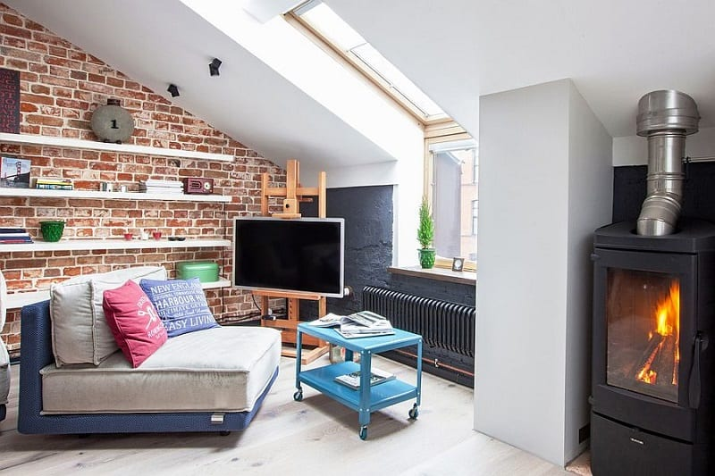 Small apartment in a former factory with an industrial charm3