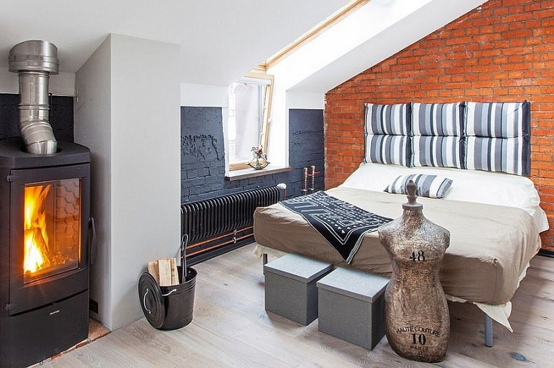 Small apartment in a former factory with an industrial charm9