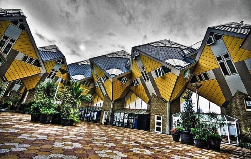 Cubic - striking architectural symbol of Rotterdam