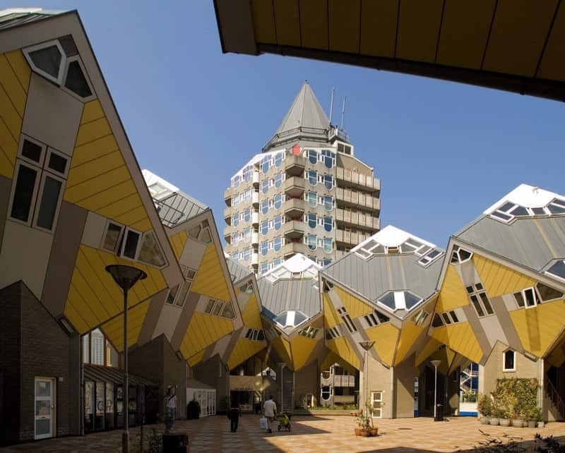 Cubic - striking architectural symbol of Rotterdam2