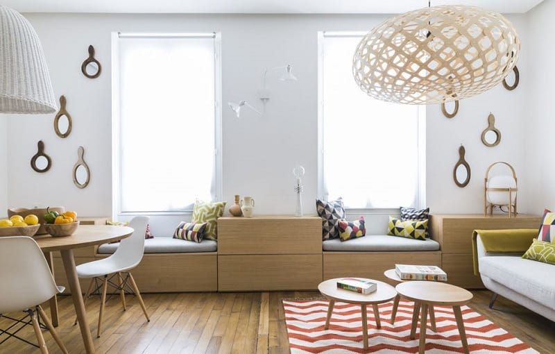 Cute French Apartments under 50 square meters1