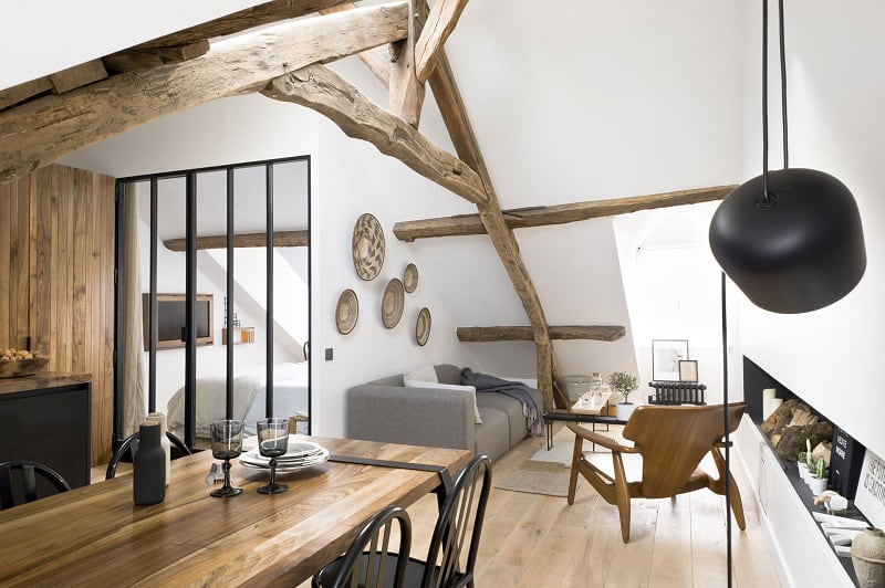 Cute French Apartments under 50 square meters8