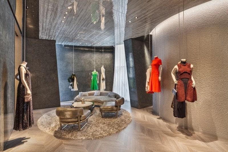 Dior's boutique in Seoul looks like a delicate calla4