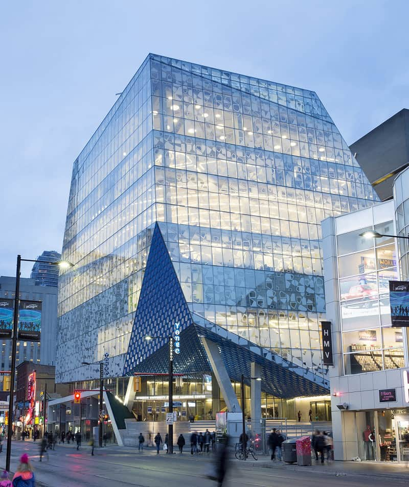 Modern and fun student learning center in Toronto