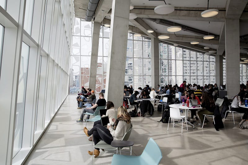 Modern and fun student learning center in Toronto5