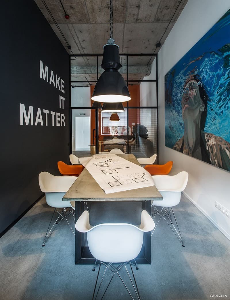 Cool offices in industrial style6