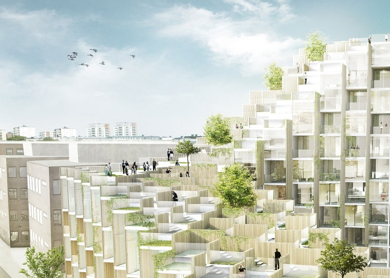 New residential complex in Stockholm by Bjarke Ingels1