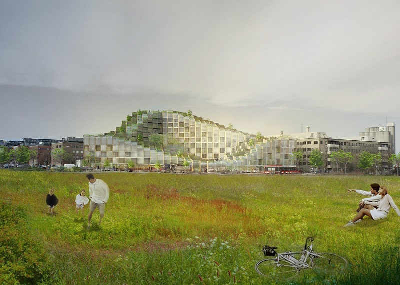 New residential complex in Stockholm by Bjarke Ingels2