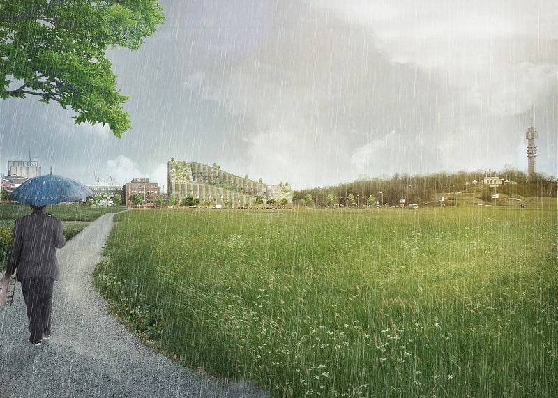 New residential complex in Stockholm by Bjarke Ingels3